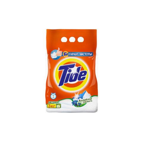 Стиральный порошок Tide 3 кг Альпийская свежесть для белых вещей<br>
