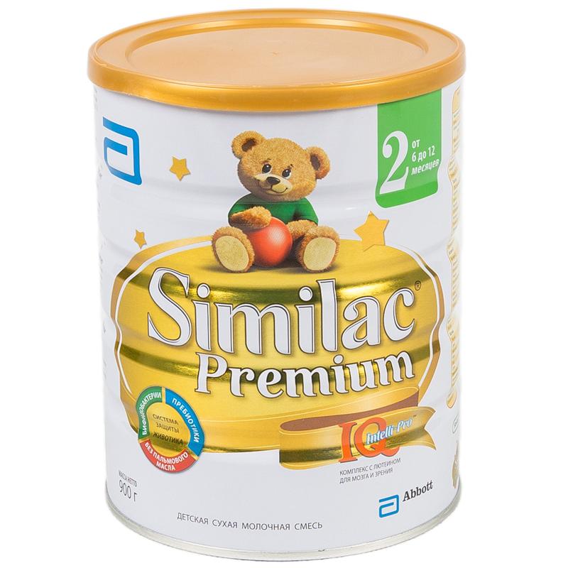 Заменитель Similac Премиум 900 гр №2 (с 6 до 12 мес)<br>