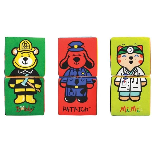 Развивающая игрушка K&amp;#039;s Kids Кубики-пазлы с 12 мес.<br>