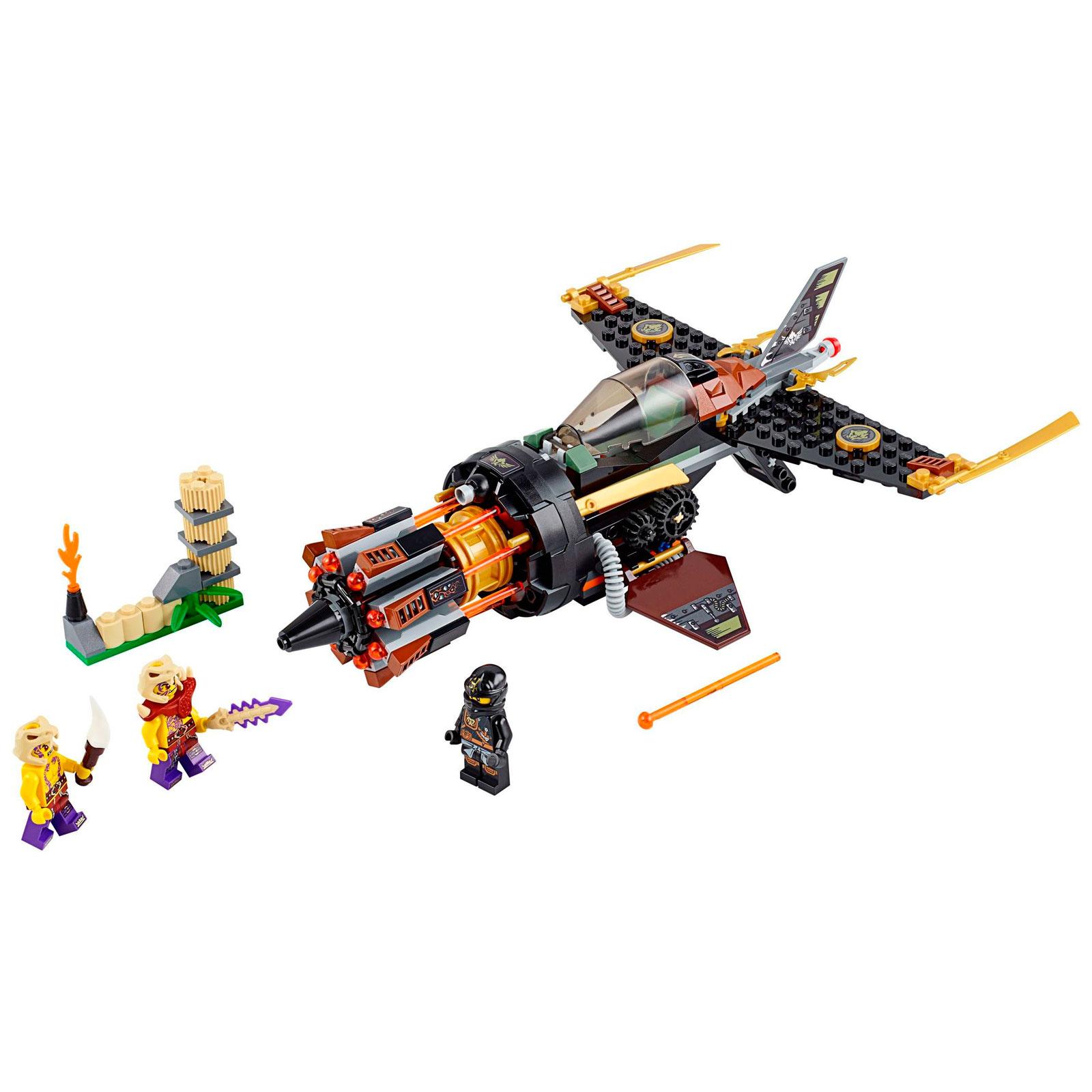 Конструктор LEGO Ninjago 70747 Скорострельный истребитель Коула<br>