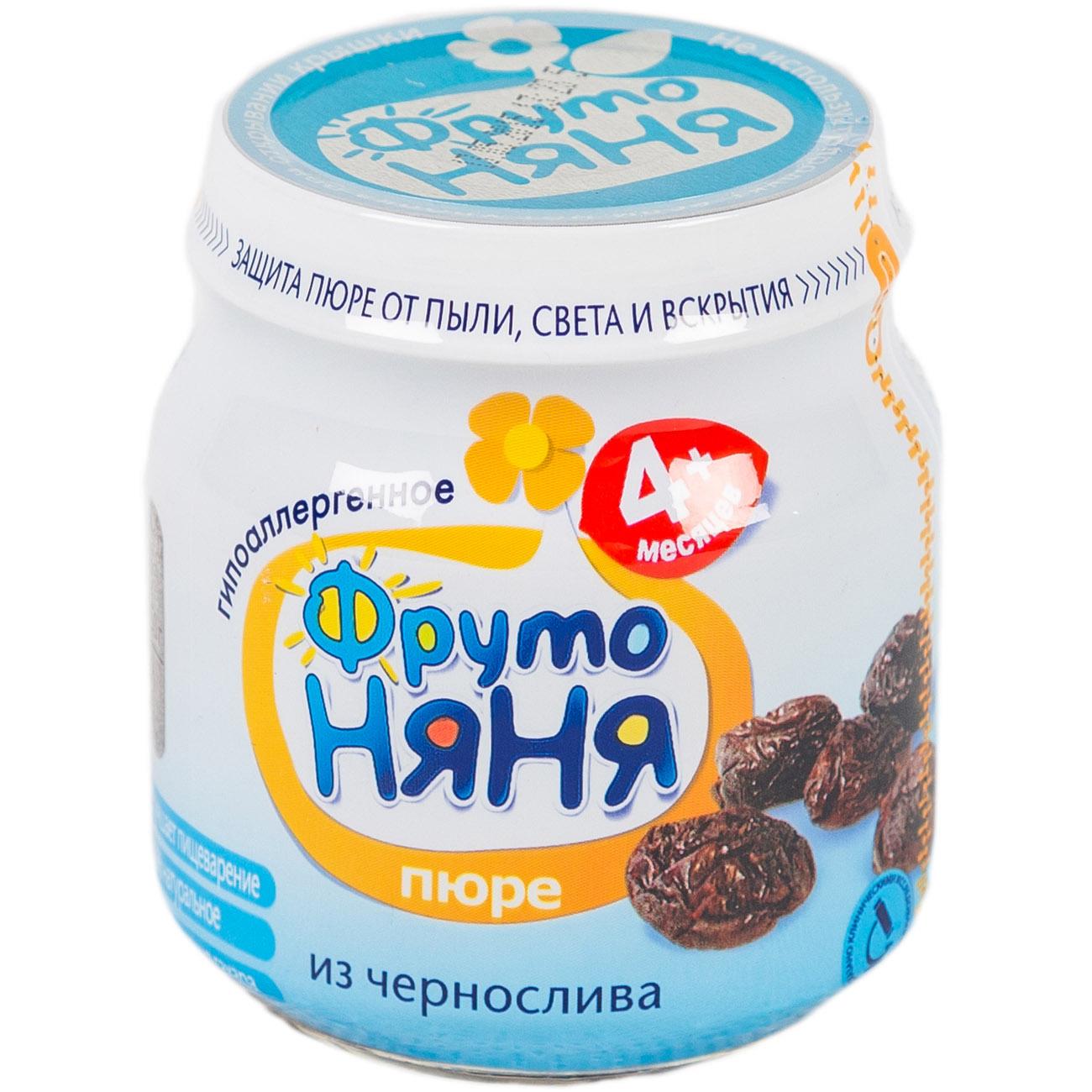 Пюре Фрутоняня фруктовое 100 гр Чернослив (с 4 мес)<br>