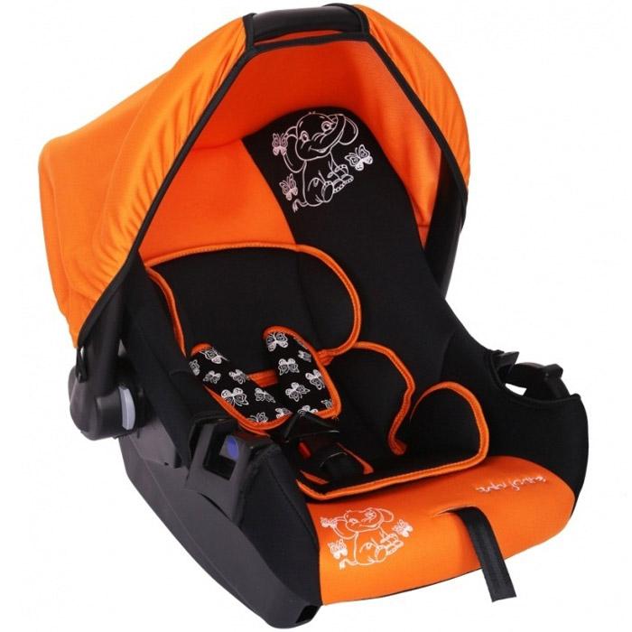 Автокресло Baby Care BC-322 Люкс Слоник Оранжевый<br>