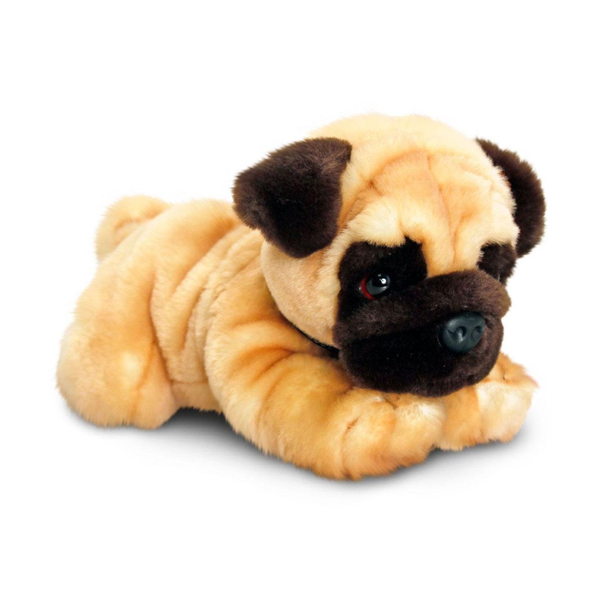 Мягкая игрушка Keel Toys Собака Мопс 30 см от Младенец.ru