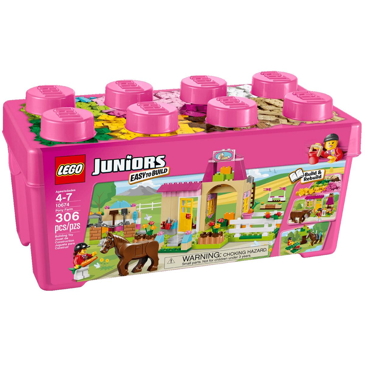 Конструктор LEGO Junior 10674 Пони на ферме<br>