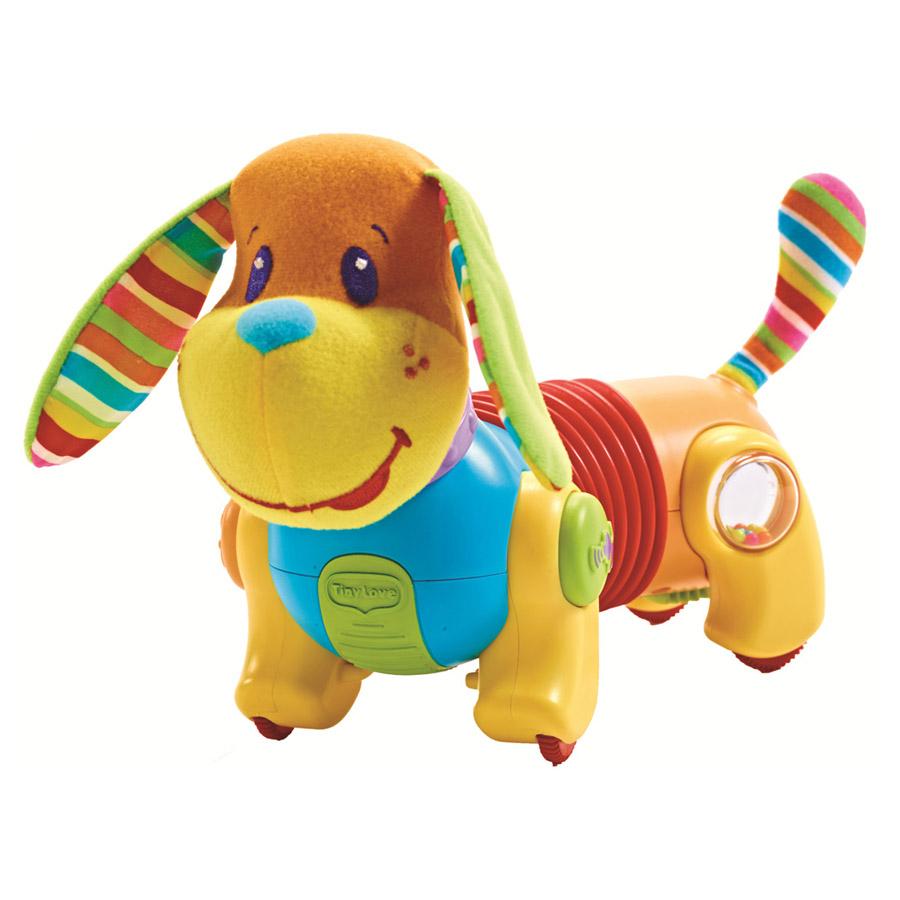Развивающая игрушка Tiny Love Собачка Фрэд Догони меня с 6 мес. музыкальная (новый дизайн)<br>