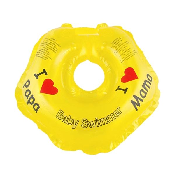 Круг на шею Baby Swimmer с 0 мес (3-12 кг) Желтый<br>
