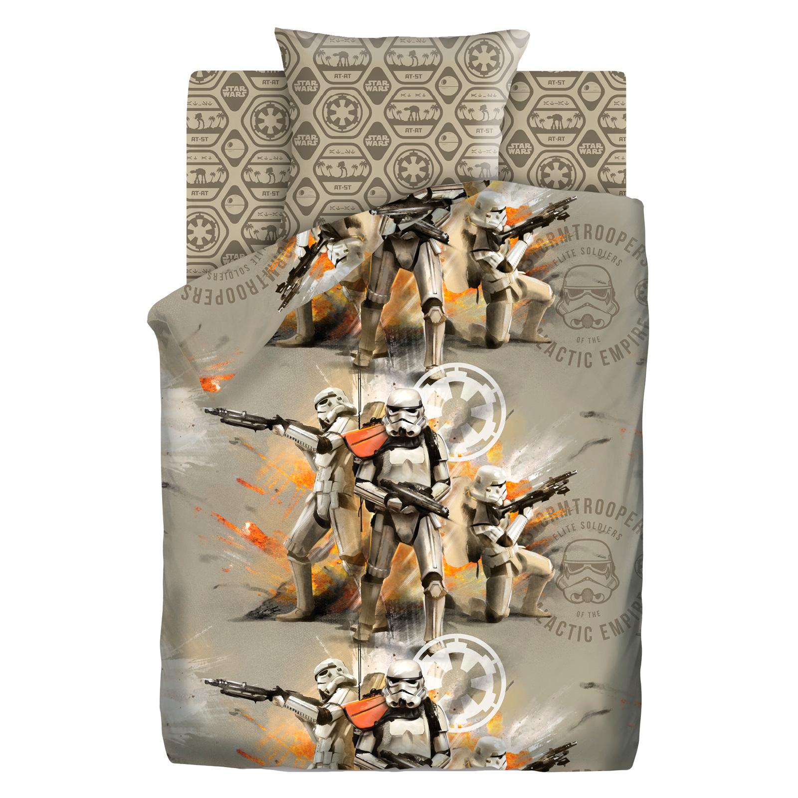 Комплект постельного белья детский 1.5 бязь Непоседа Star Wars с наволочкой 70х70 Отряд Штурмовиков (изгой)<br>