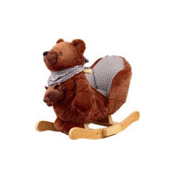 Качалка Rock My Baby меховая Медведь JR2588B<br>