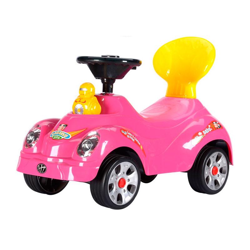 Каталка TjaGo Robot Розовая