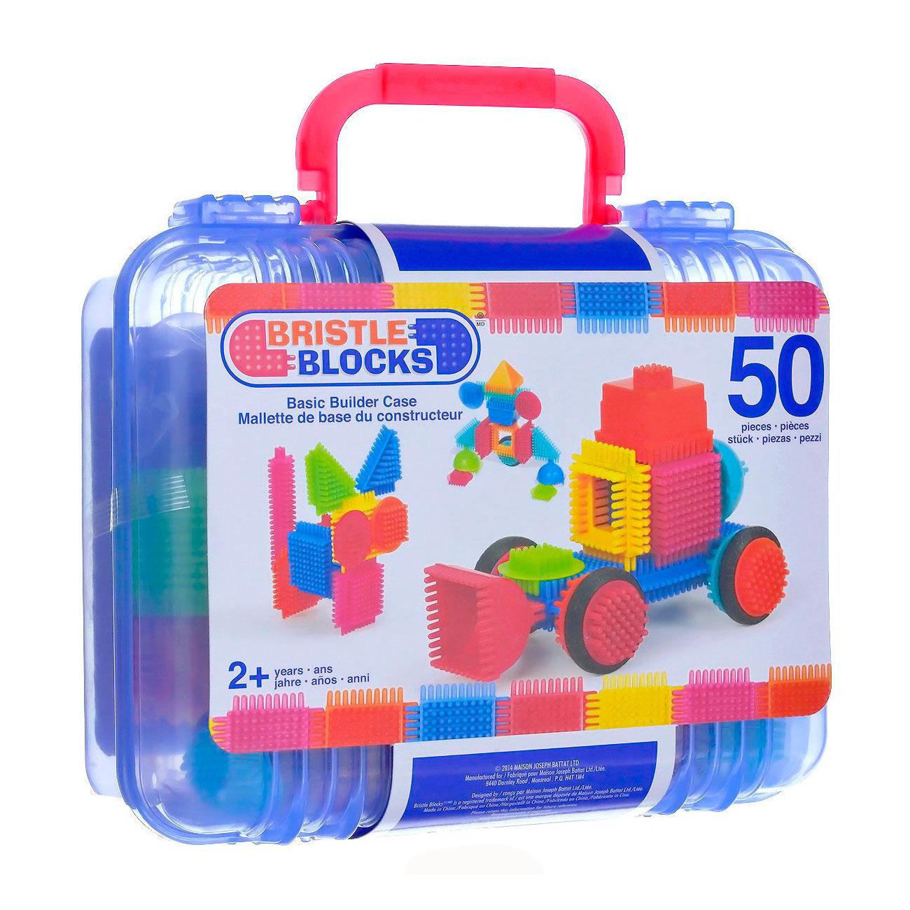 Конструктор Bristle Blocks 50 деталей в чемоданчике<br>