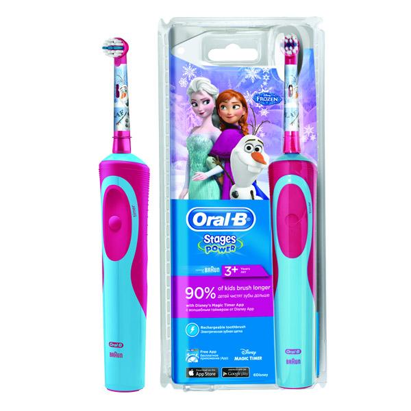 Зубная щетка электрическая Oral-B Stages Power<br>