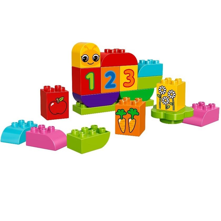 Конструктор LEGO Duplo 10831 Моя веселая гусеница<br>
