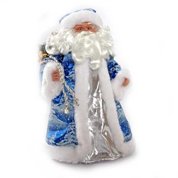 Игрушка Дед Мороз Winter Wings 30 см Под елку с мешком подарков<br>