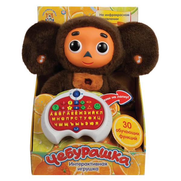 Интерактивная игрушка Мульти-Пульти Чебурашка с клавиатурой