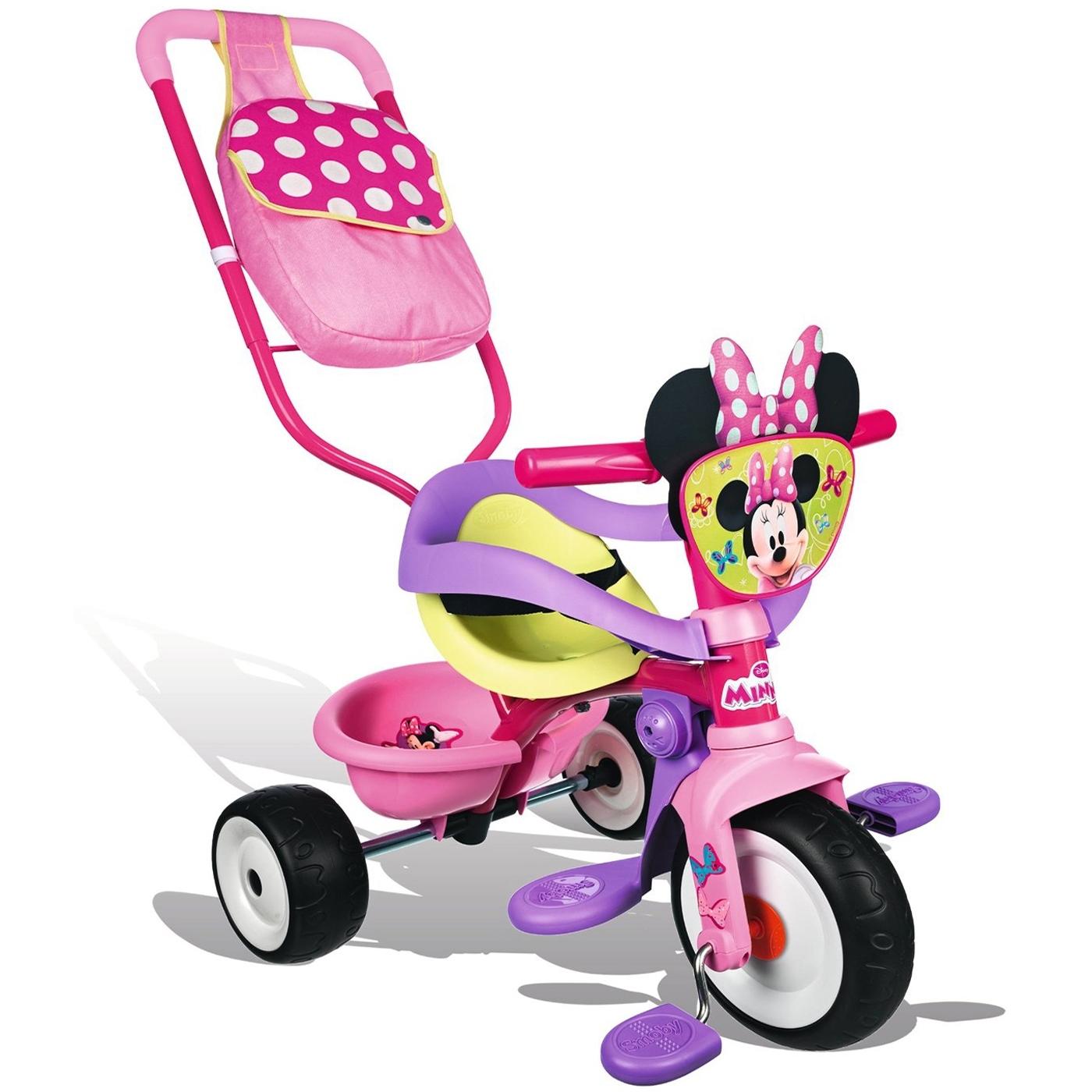 Велосипед Smoby Трансформер с сумкой Minnie<br>