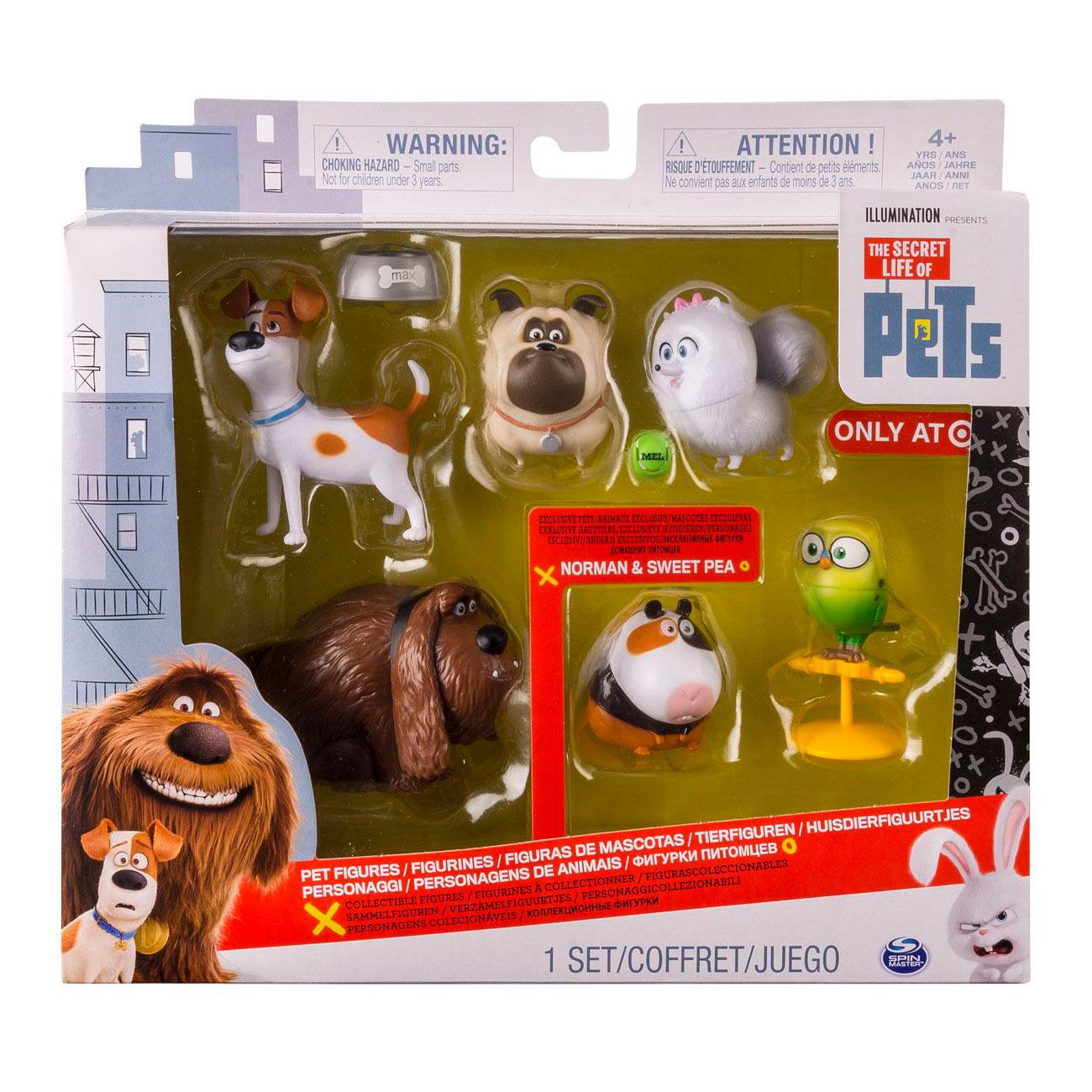 Игрушка Secret Life of Pets 6 фигурок героев<br>
