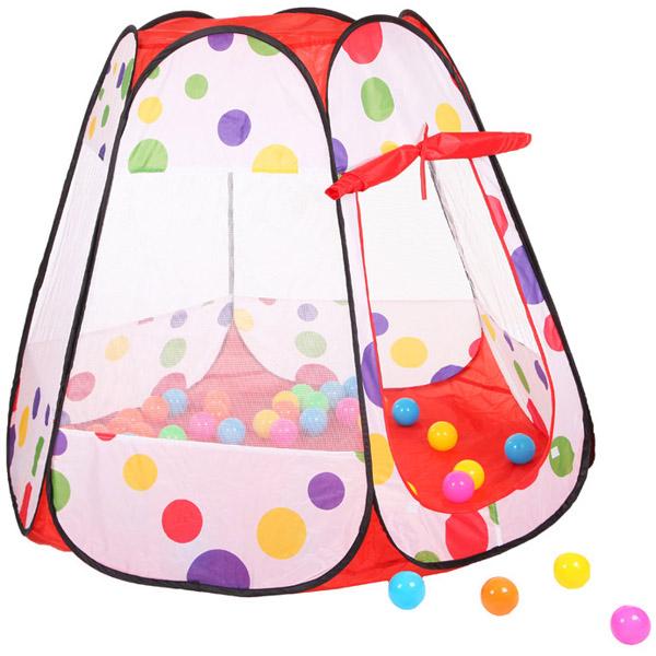 Игровая палатка YAKO С шарами 50 штук Y20206012<br>