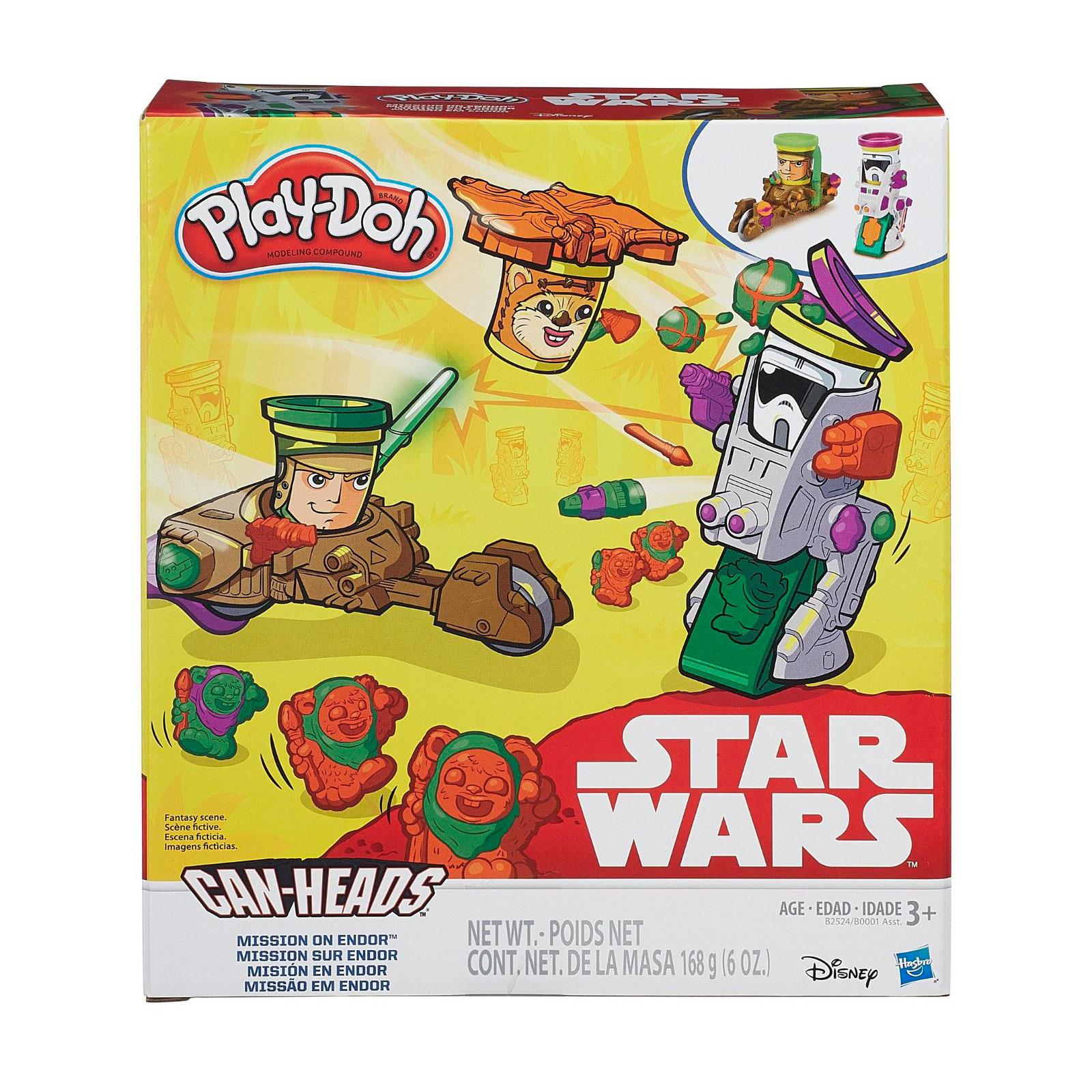 Игровой набор Play-Doh Транспортные средства героев Звездных войн<br>