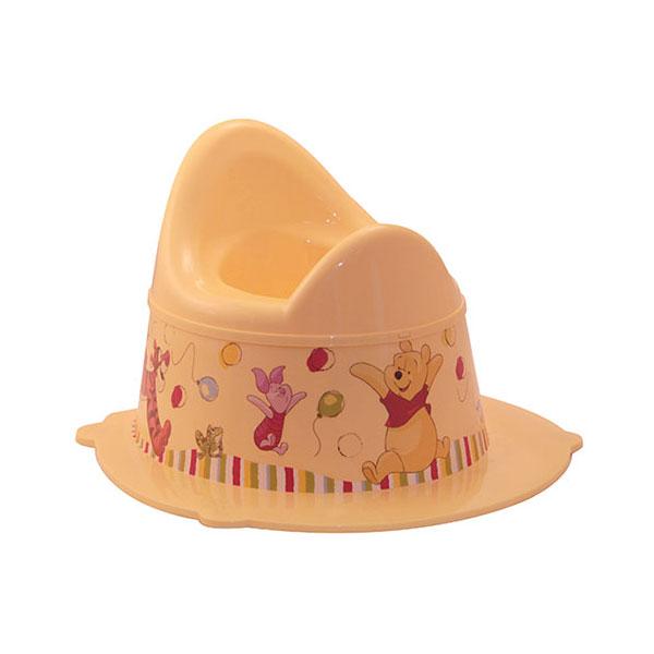 Горшок Disney Деко Винни (цвет - банановый)<br>