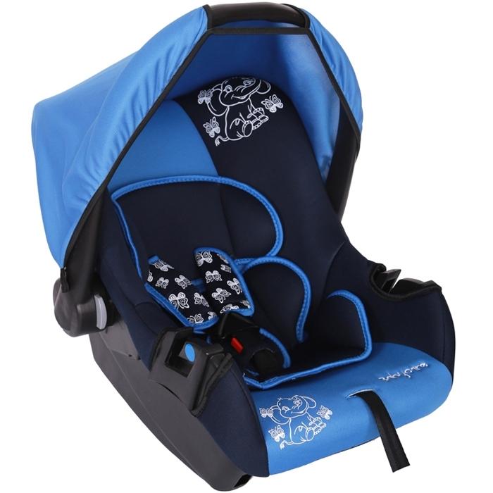 Автокресло Baby Care BC-322 Люкс Слоник Синий<br>