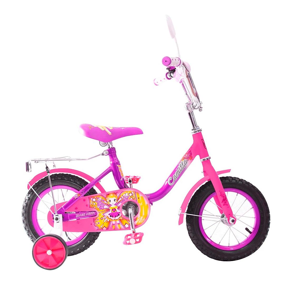 Велосипед двухколесный RT BA Camilla 12 KG1217 Фиолетовый<br>