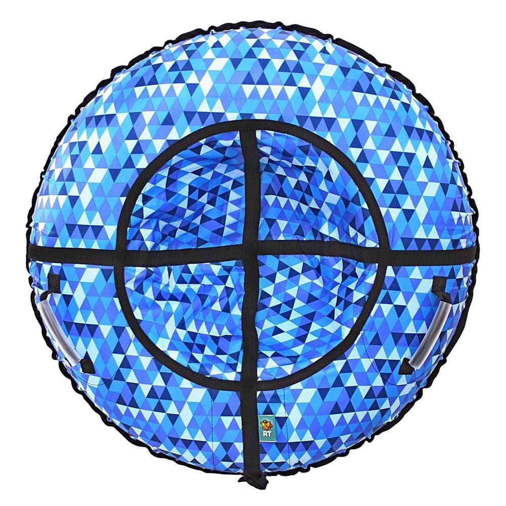 Тюбинг RT Ромбы Голубой 105 см<br>