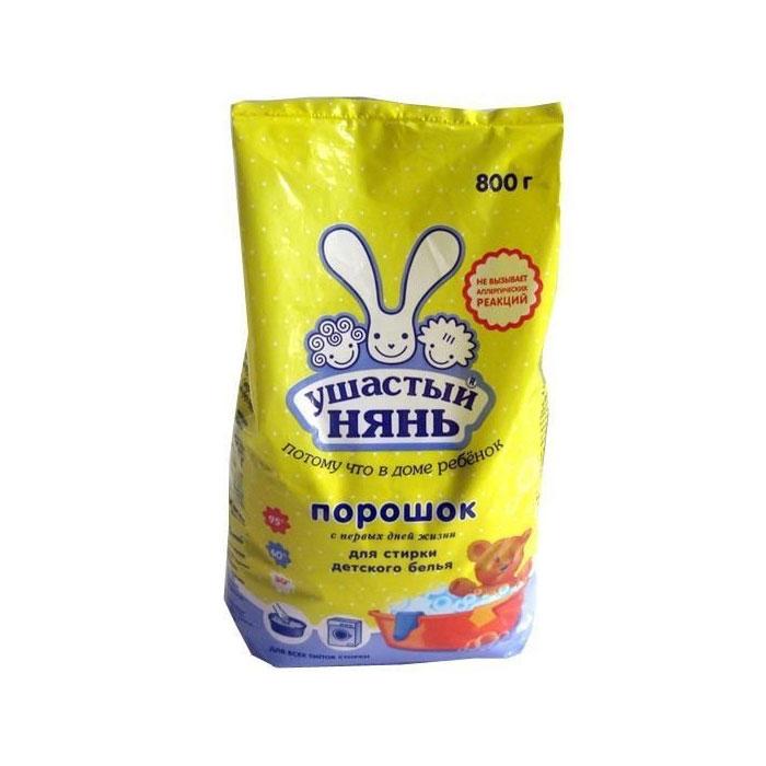 Стиральный порошок Ушастый нянь 800 гр.<br>