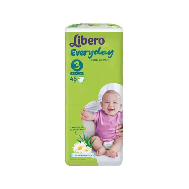 ���������� Libero Everyday Natural � �������� Midi 4-9 �� (46 ��) ������ 3