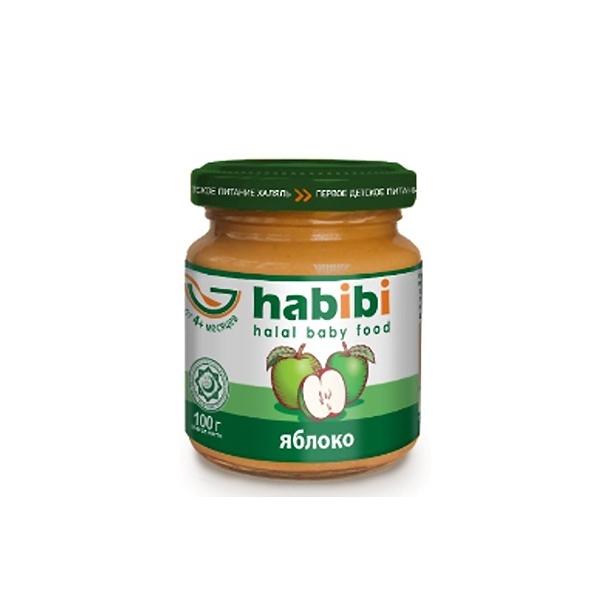Пюре Habibi фруктовое 100 гр Яблоко (с 4 мес)<br>