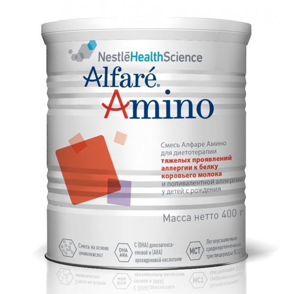 Молочная смесь Nestle Alfare 400 гр Amino (с 0 мес)<br>