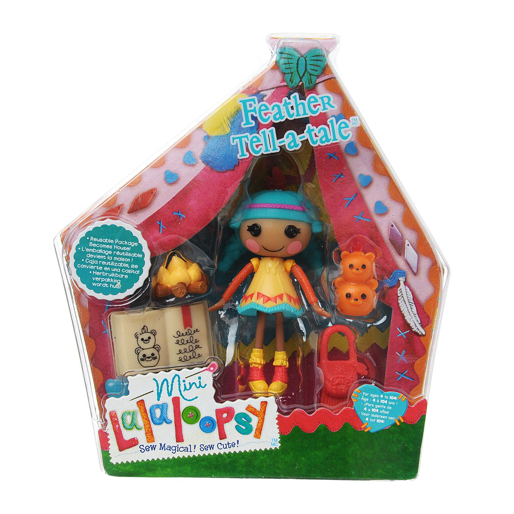 ����� Mini Lalaloopsy � ������������ Feather Tell-a-tale