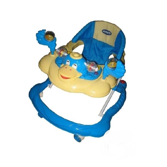 Ходунки Avanti Duck Бежевые с голубым