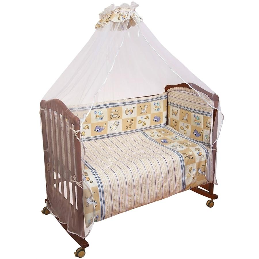 Комплект в кроватку Сонный гномик Считалочка Бежевый<br>