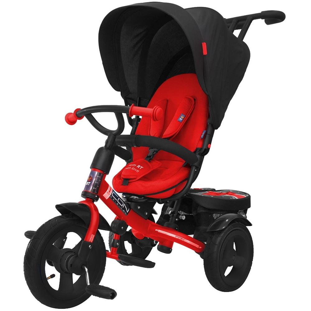Велосипед RT ICON elite NEW Stroller by Natali Prigaro Black brilliant красный<br>