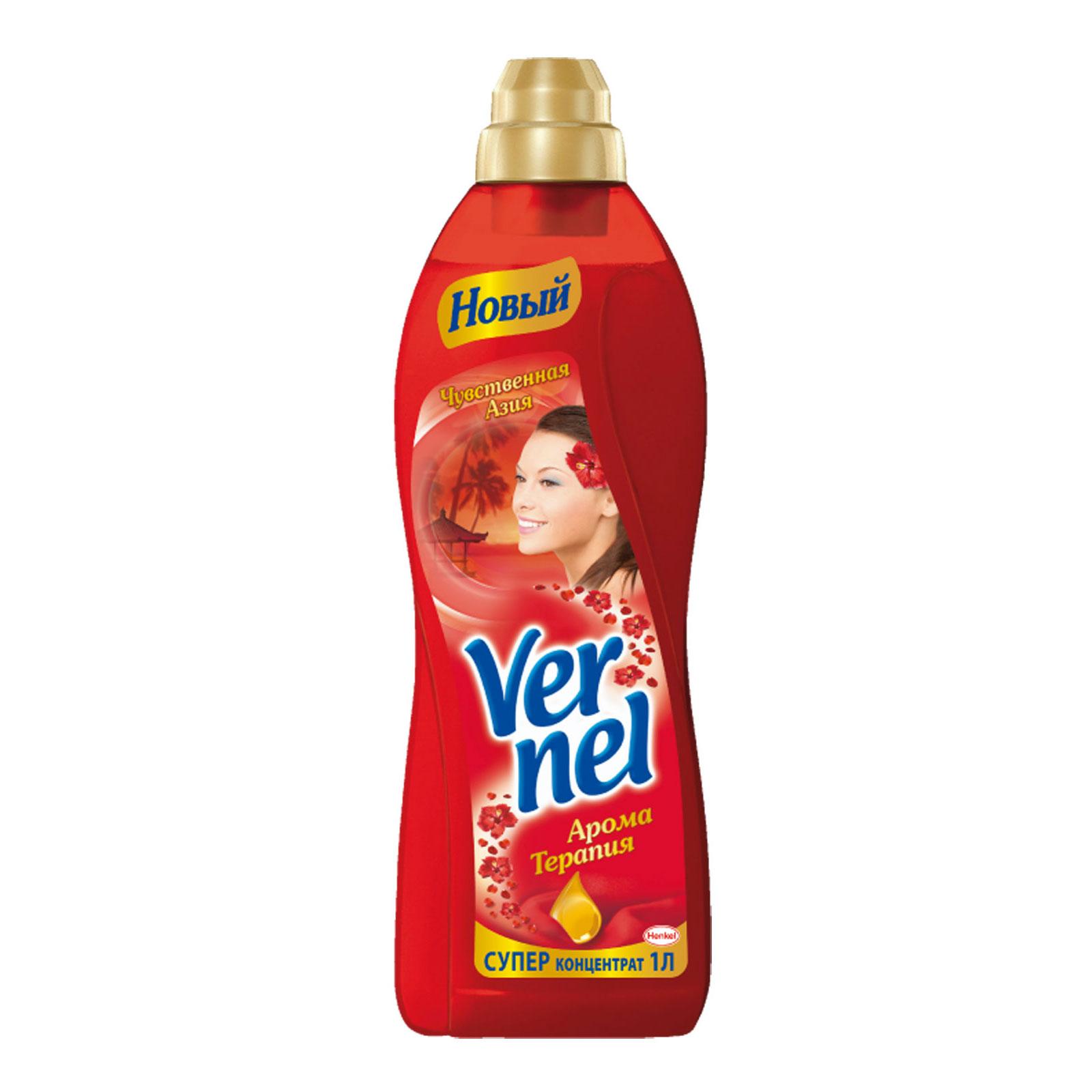 Кондиционер для белья Vernel 1000 мл. Чувственная Азия<br>