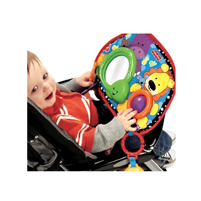 Развивающая игрушка Fisher Price Блестящие основы Коврик Блестящие основы с 0 мес от Младенец.ru