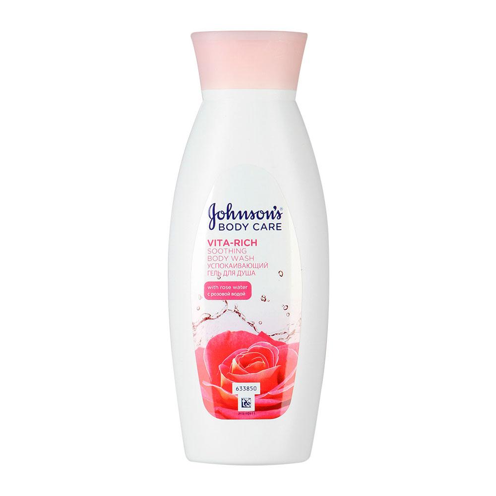 Гель для душа Johnson&amp;#039;s Body Care Vita-Rich с розовой водой (успокаивающий) 250 мл<br>