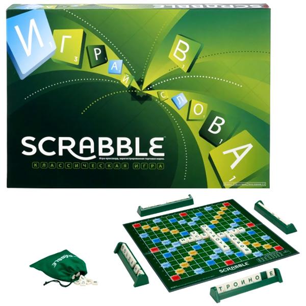 Настольная игра Mattel Games Scrabble<br>