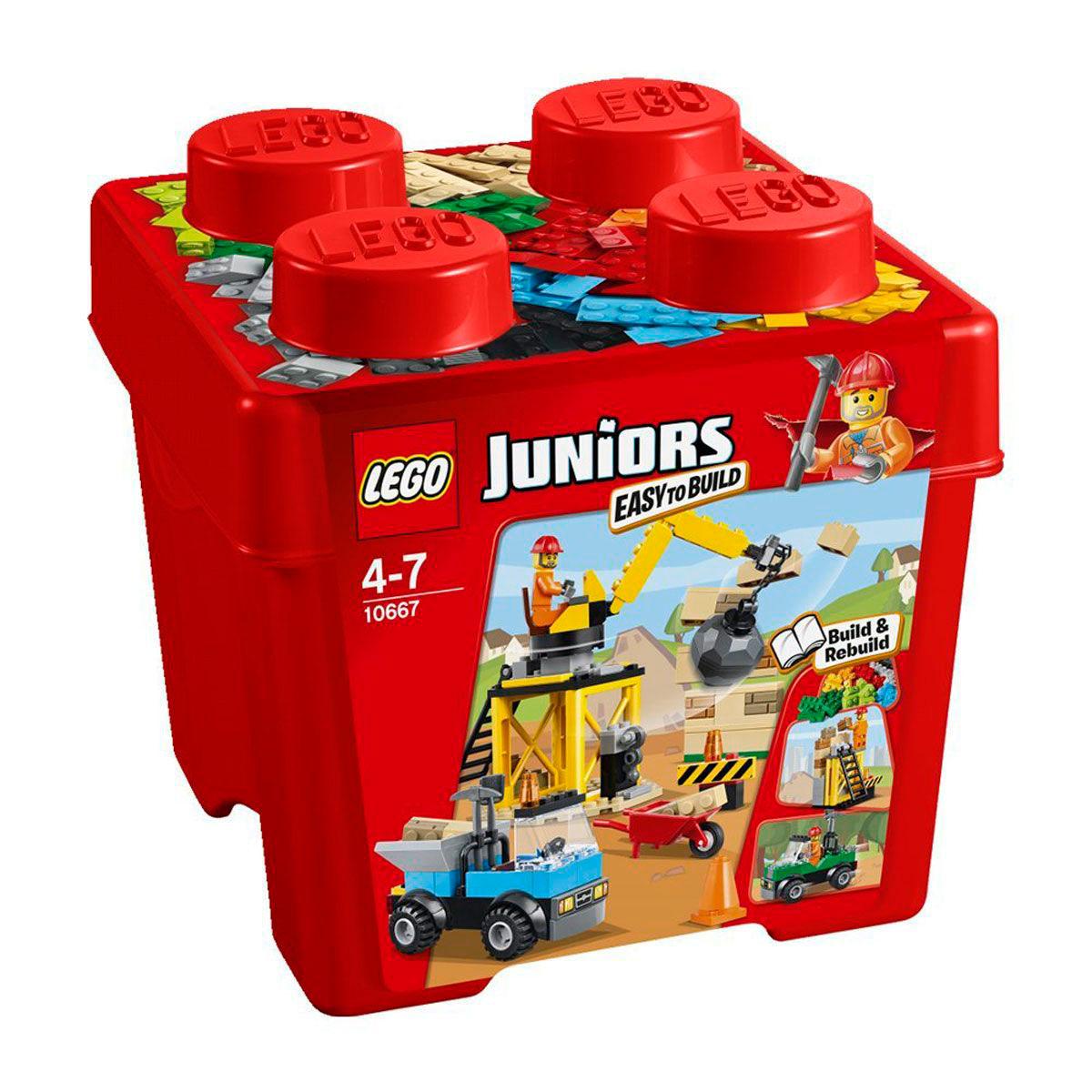Конструктор LEGO Junior 10667 Стройка<br>