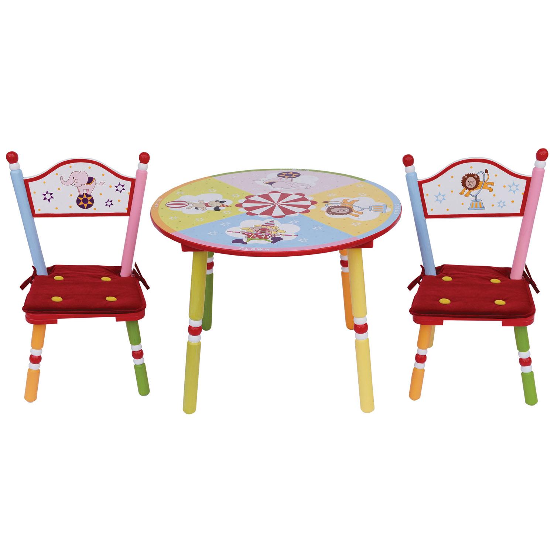 Комплект из стола и двух стульев Major-Kids Circus<br>