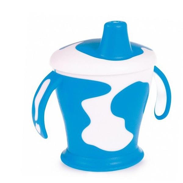Чашка-непроливайка Canpol Babies С ручками синяя (с 9 мес)<br>