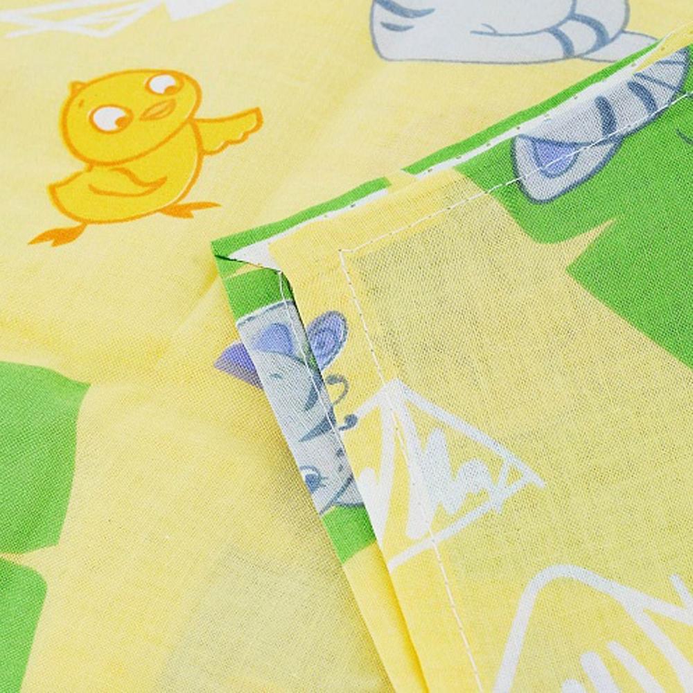 Комплект постельного белья  Споки Ноки бязь100% хлопок Котята и цыплята (голубой, желтый, розовый)<br>