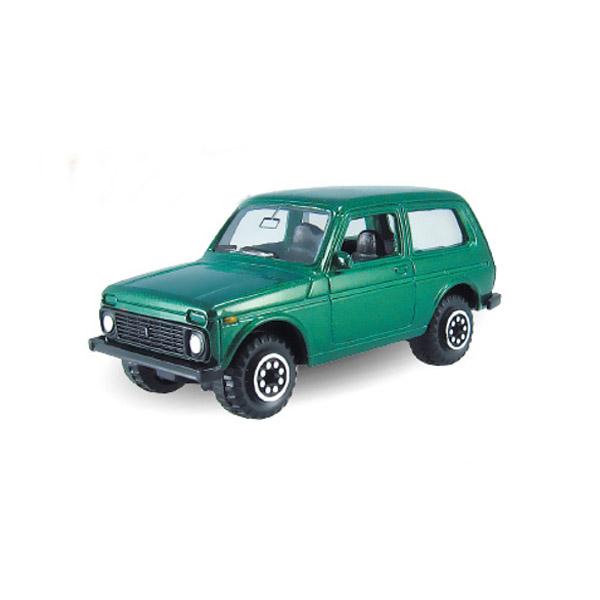Машинка Autotime LADA 4x4 гражданская 1:60<br>