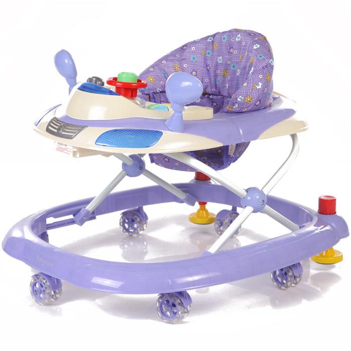 Ходунки Baby Care Prix Фиолетовый<br>