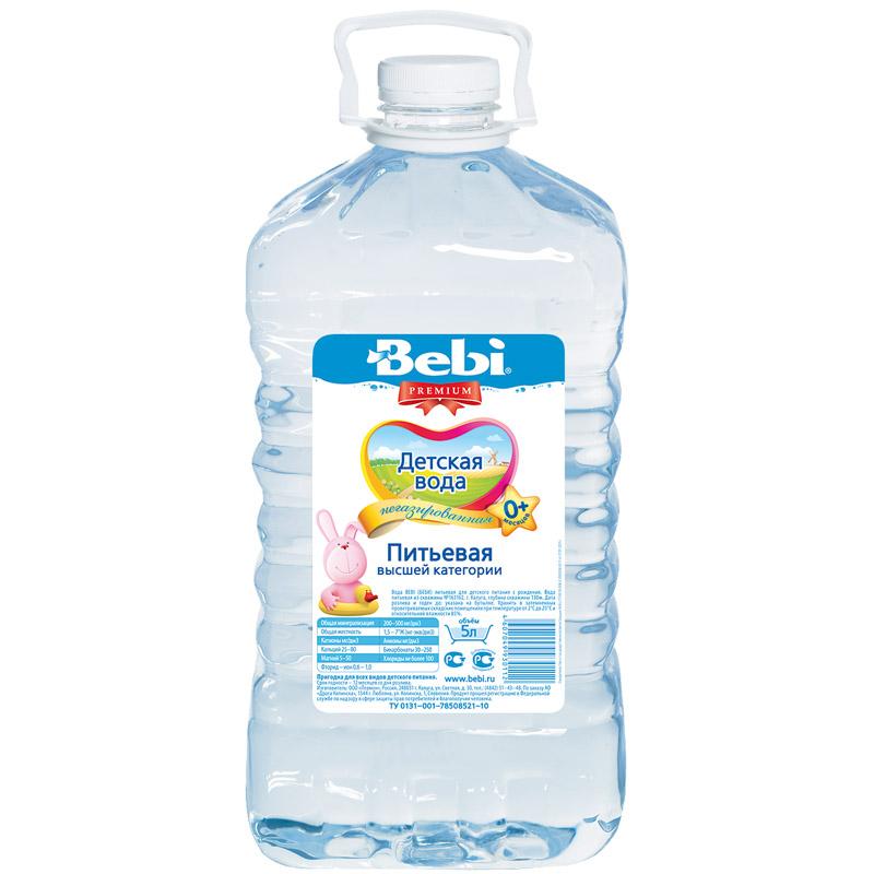 Вода детская Bebi 5 л<br>