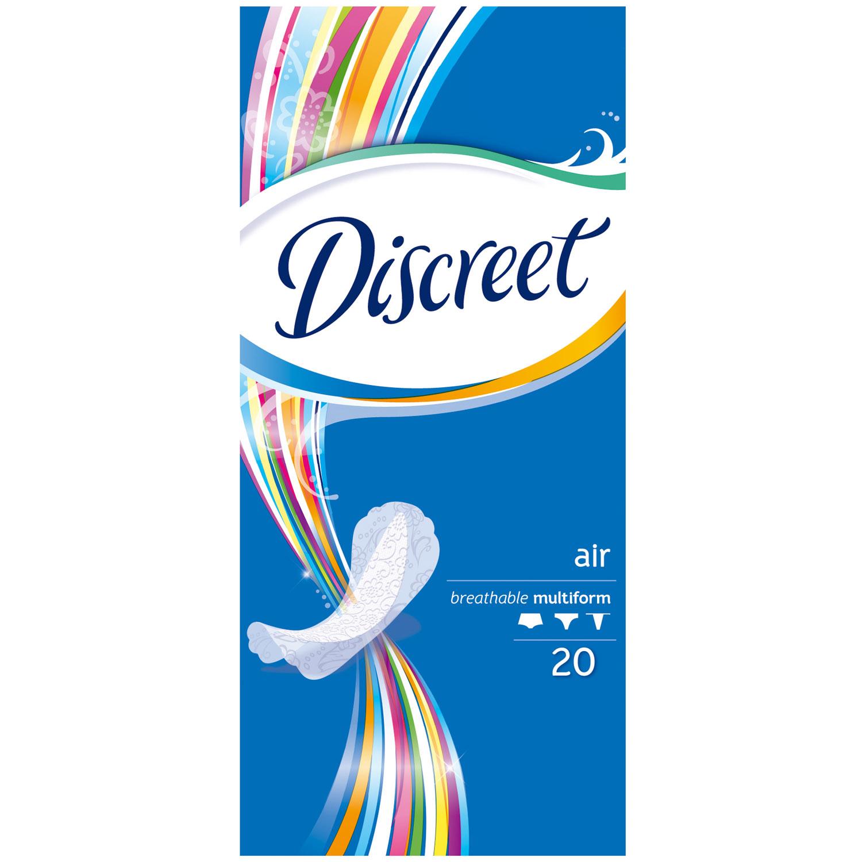 Прокладки гигиенические Discreet ежедневные Air Multiform Single 20шт<br>
