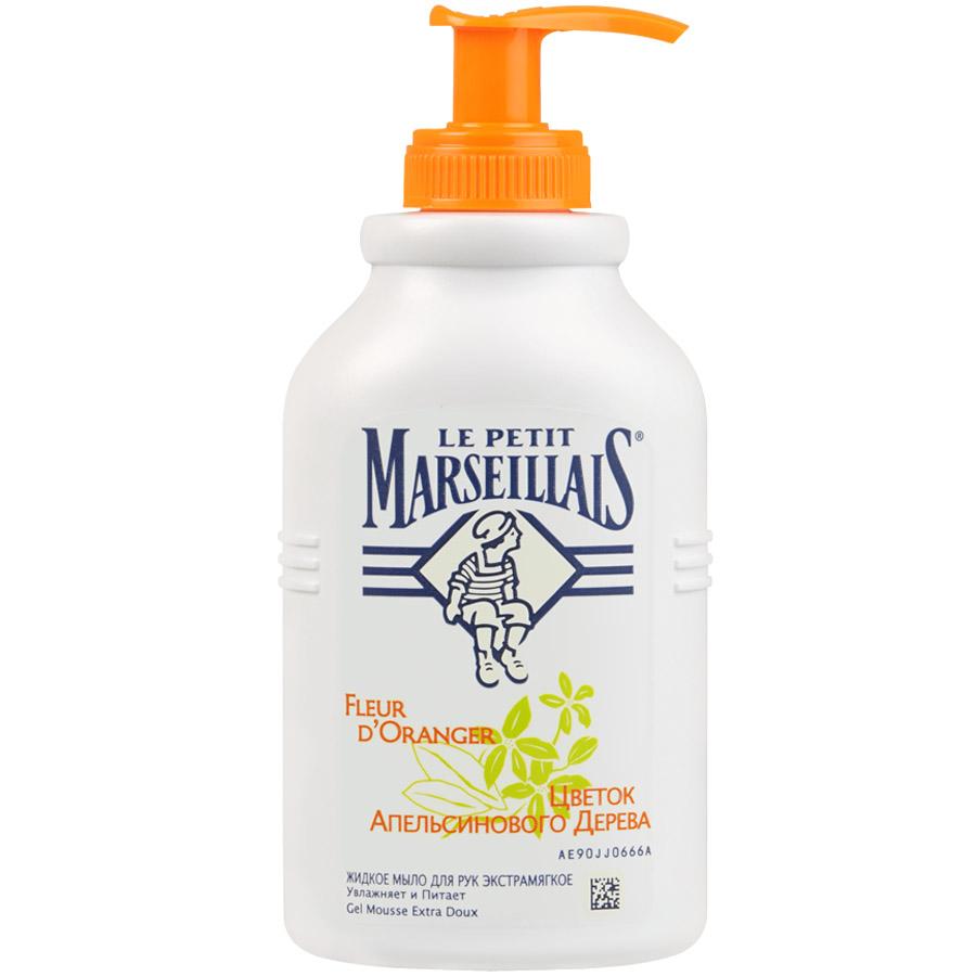 Жидкое мыло Le Petit Marseillais для рук 300мл Цветок Апельсинового Дерева<br>
