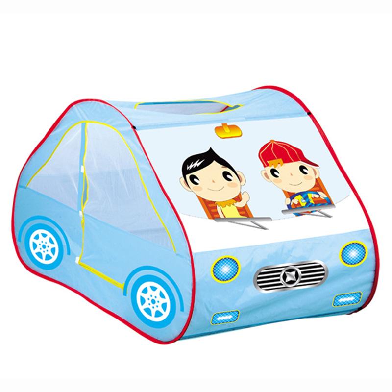 Игровой дом Yongjia Автомобиль Голубой<br>