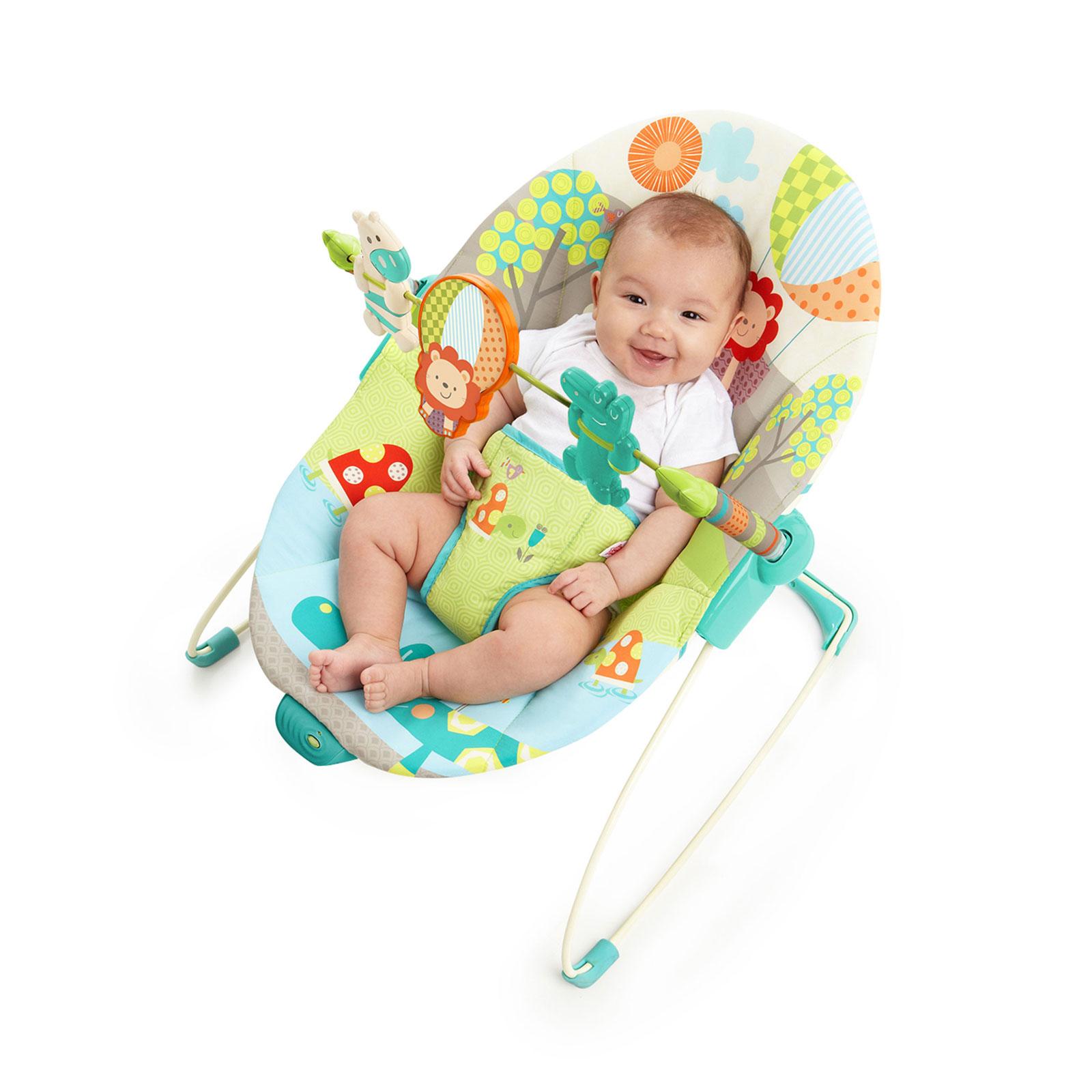 Кресло-качалка Bright Starts Забавные джунгли