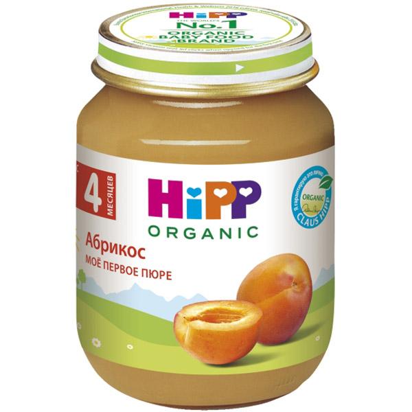 Пюре Hipp фруктовое 125 гр Абрикос (с 4 мес)<br>